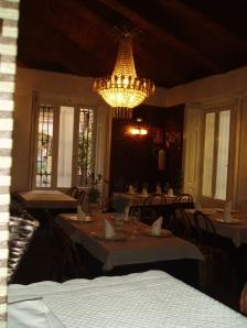 Interior sala A´Peregrina